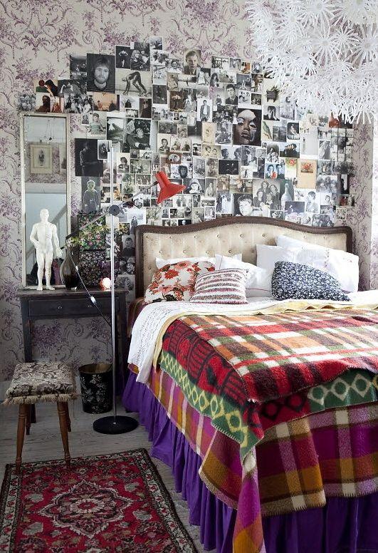 Chic And Inviting Retro Interior Decor Retro Bedrooms Vintage