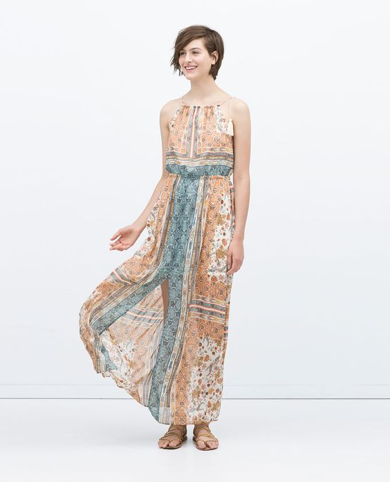C A Summer Dresses Halter
