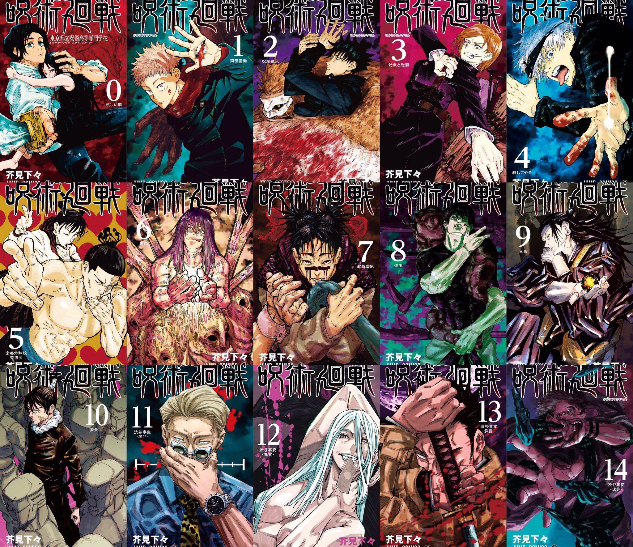 Jujutsu Kaisen On Twitter In 2021 Jujutsu Manga Covers Aesthetic Anime