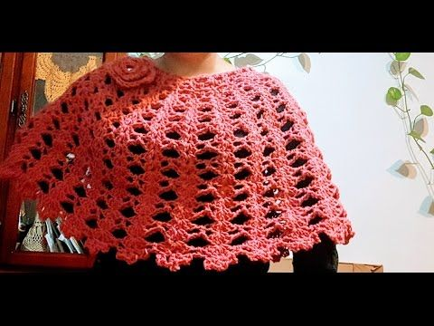 CAPA FACIL A CROCHET (punto fantasía) - YouTube | adriana ...