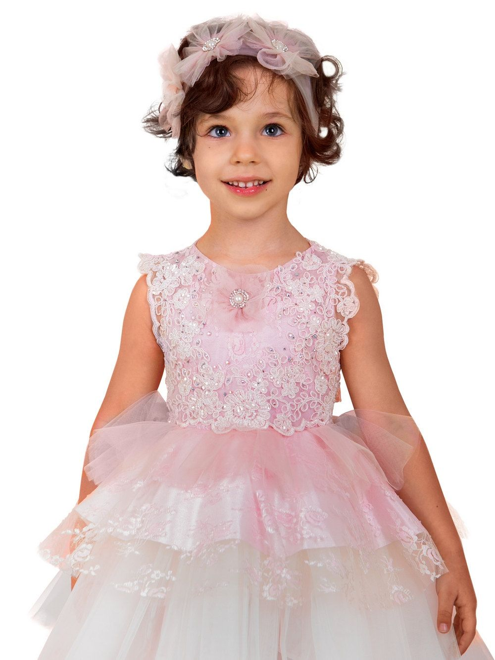 Pink flower dress birthday bridesmaid girl party dress for pink flower dress birthday bridesmaid girl party dress for princess satin dress party girl birthday gift ombrellifo Gallery
