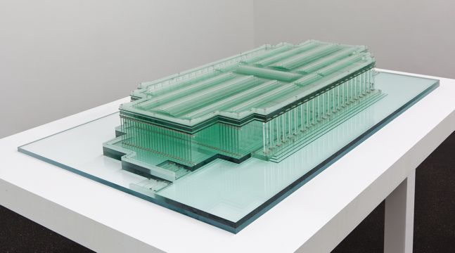 Wer Im Glashaus Sitzt carlos garaicoa wer im glashaus sitzt 2013 sclptr