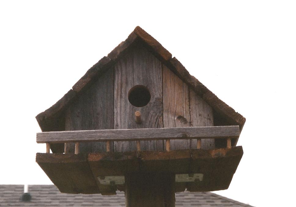 Swiss Chalet birdhouse Swiss Chalet birdhouse