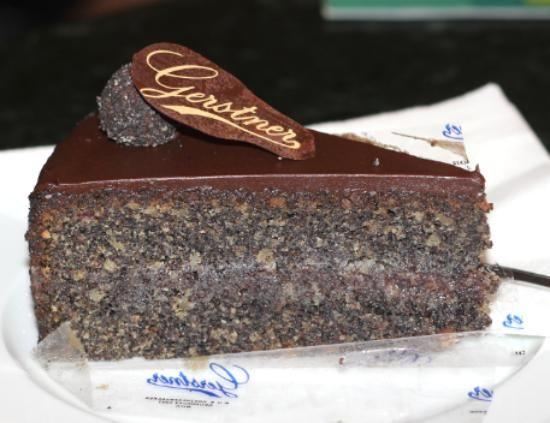 Poppy seed torte at Gerstner, Vienna Viennese Pastry Pinterest - reddy küchen wien