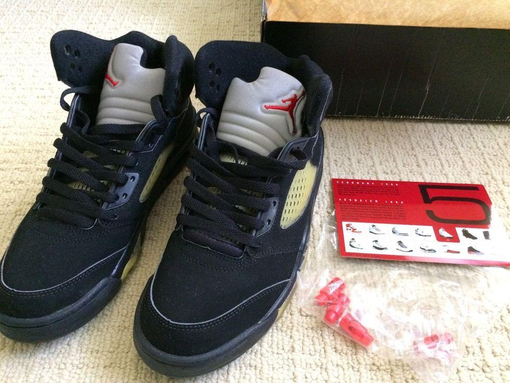 f4b89d53055dde eBay  Sponsored 2000 Nike Air Jordan Retro 5 Size 8