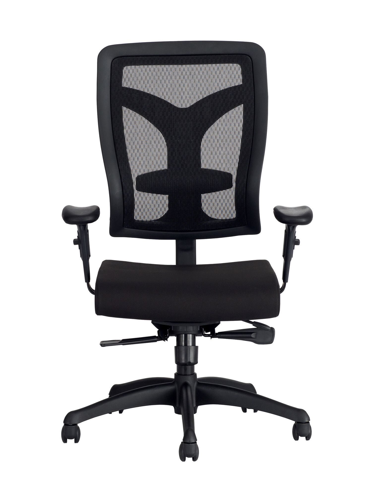Voice™ High-Back Mesh Conference Chair with T-Pad Arms