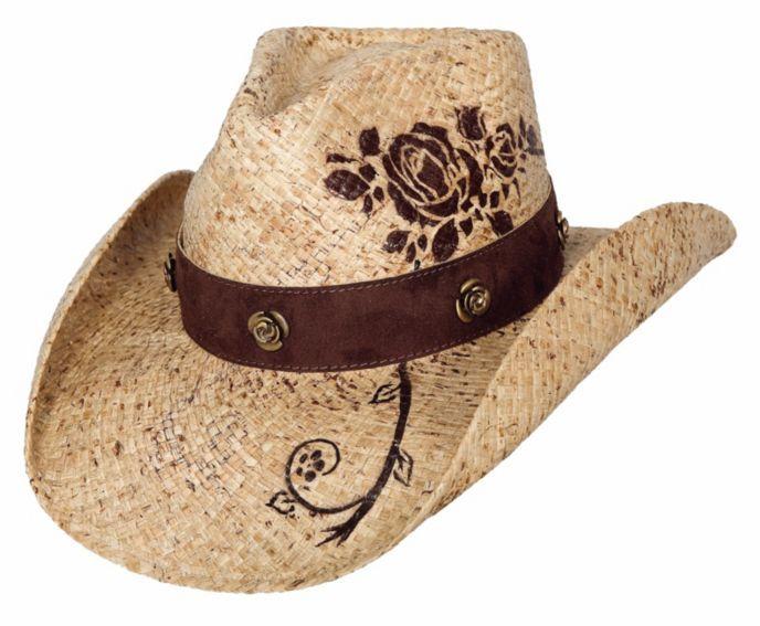 Bullhide Romantic Dream Raffia Straw Cowgirl Hat  1f765991543b