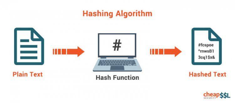 Hashing Algorithm And Hash Function Hashing Algorithm Cyber Security
