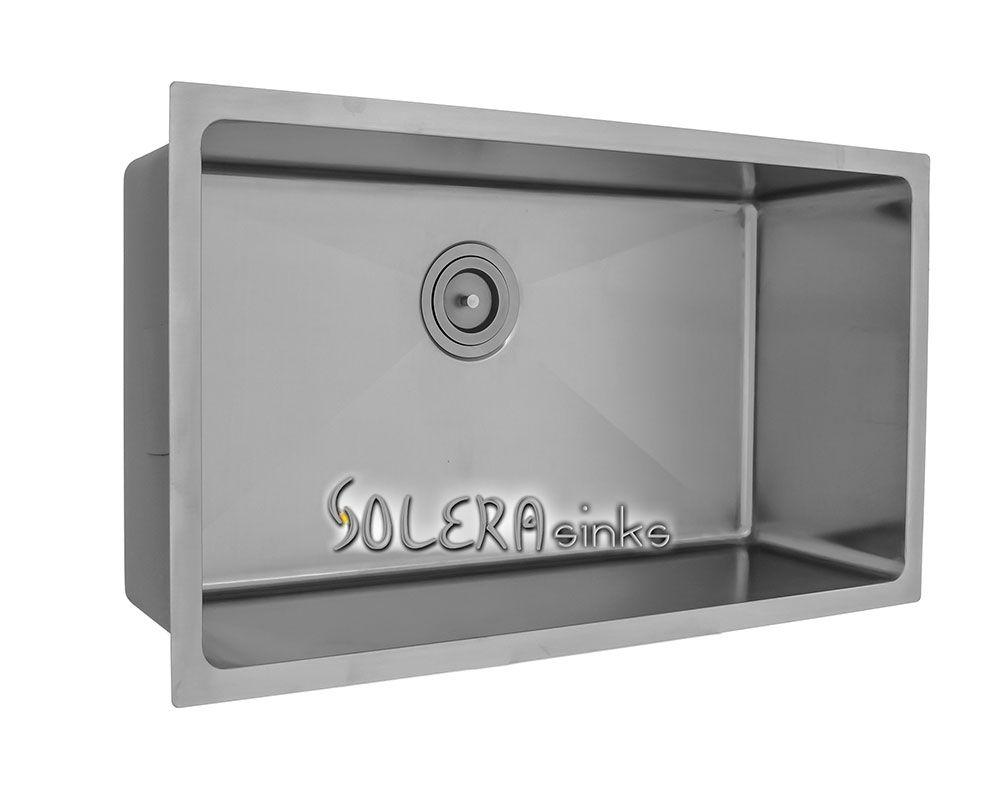 Solera Sinks Stainless Steel Ss0213 Single Bowl Sink Sink