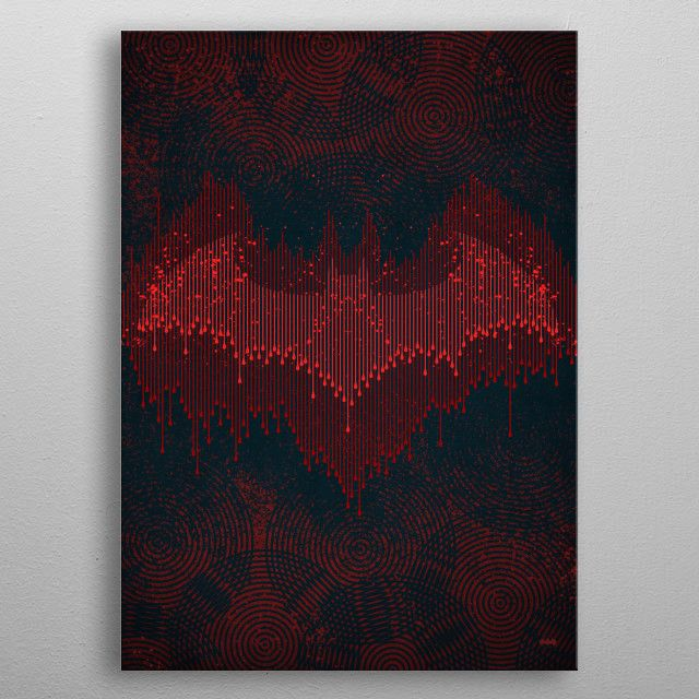 Echolocation Poster made out of metal Poster made out of metal metal poster designed with by Comics Decorate your space with this design  find daily inspiration in it
