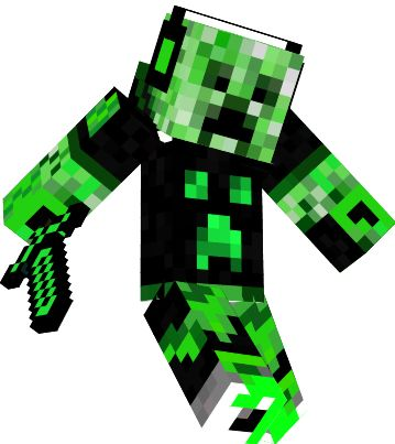 Cave spider girl minecraft