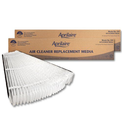 Aprilaire 510 Replacement Filter, MERV 11 (Pack of 2)  Aprilaire 510 Replacement Filter, MERV 11 (Pack of 2) Aprilaire Air Filters help keep your HVAC equipment running at peak efficiency. The Aprilaire 510 air filters fit the Aprilaire 1510 Air purifier system. This MERV 11 air filter ensures the best performance. Change out the Aprilaire 510 Air Filter every year. Pack of 2.  http://www.airconditionercenter.com/aprilaire-510-replacement-filter-merv-11-pack-of-2/