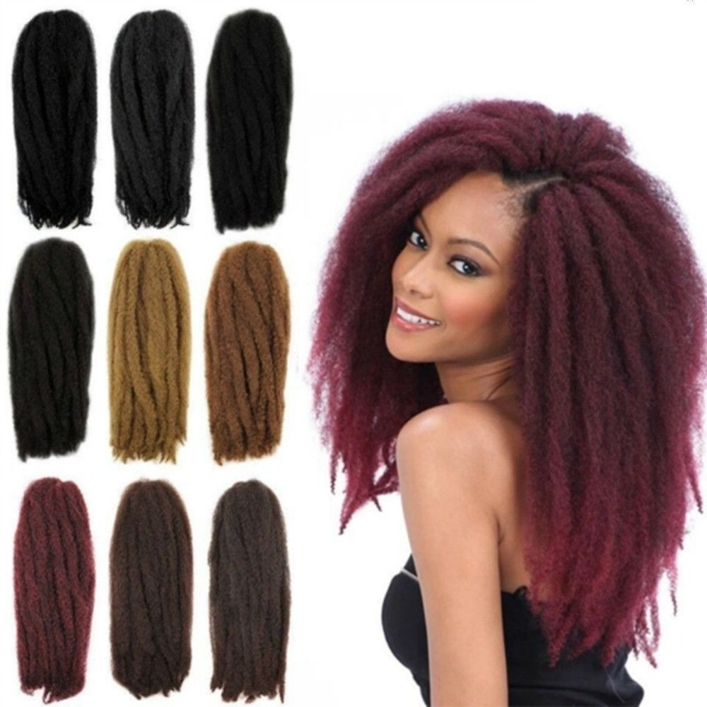 18inch afro kinky curly crochet hair extensions crochet braids 18inch afro kinky curly crochet hair extensions pmusecretfo Choice Image