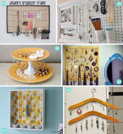 Easy Diy Jewelry Organizer Diy Projects For Bedroom Easy Diy Jewelry Diy Clothes Storage