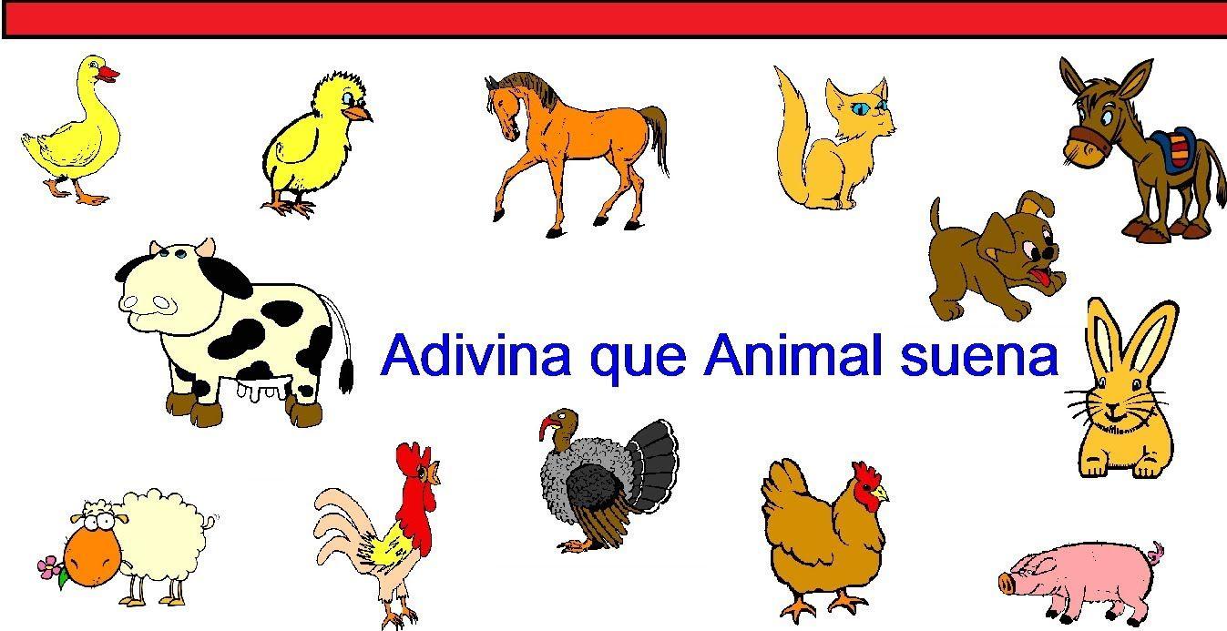 Que Animal Suena Spanish Activities Animals Activities