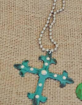 Vintage Metal Cross Earrings! #southernrootsboutiquetx