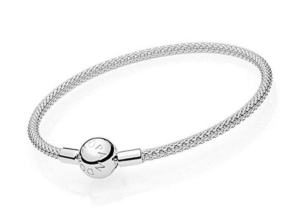 cebec1f97 Pandora Rigid Bracelet 596543-19 Woman Silver Moments maya (eBay Link)