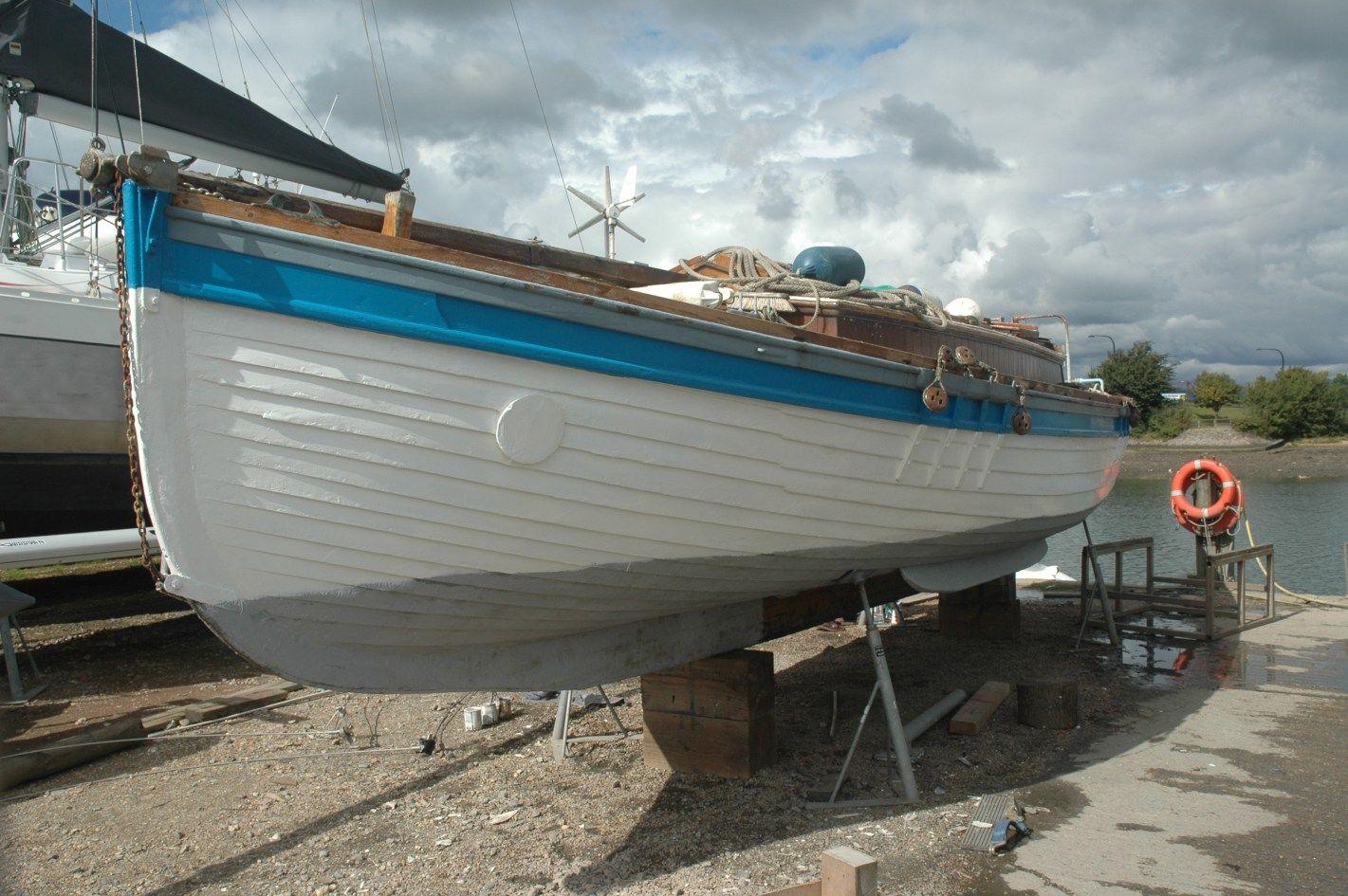 Old boats, traditional boats, boat building, restoration, the sea and the North Kent Coast - Gavin Atkin's weblog