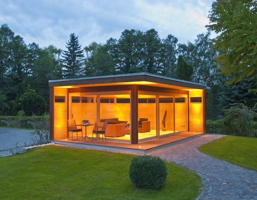 modernes gartenhaus my lounge xl in der gre - Fantastisch Moderne Gartenhuser