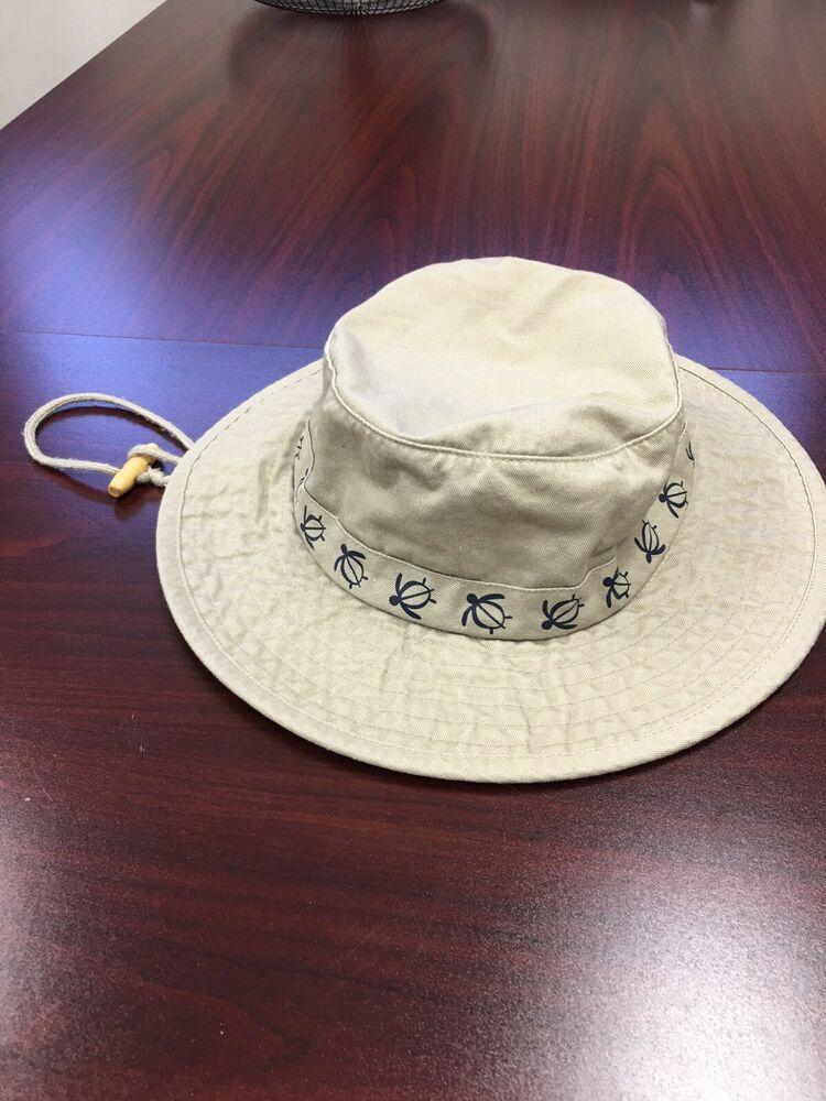 d5f5d404 Dorfman Pacific (DPC) Turtle Cotton Bush Boonie Bucket Hat Beige Size large  #fashion