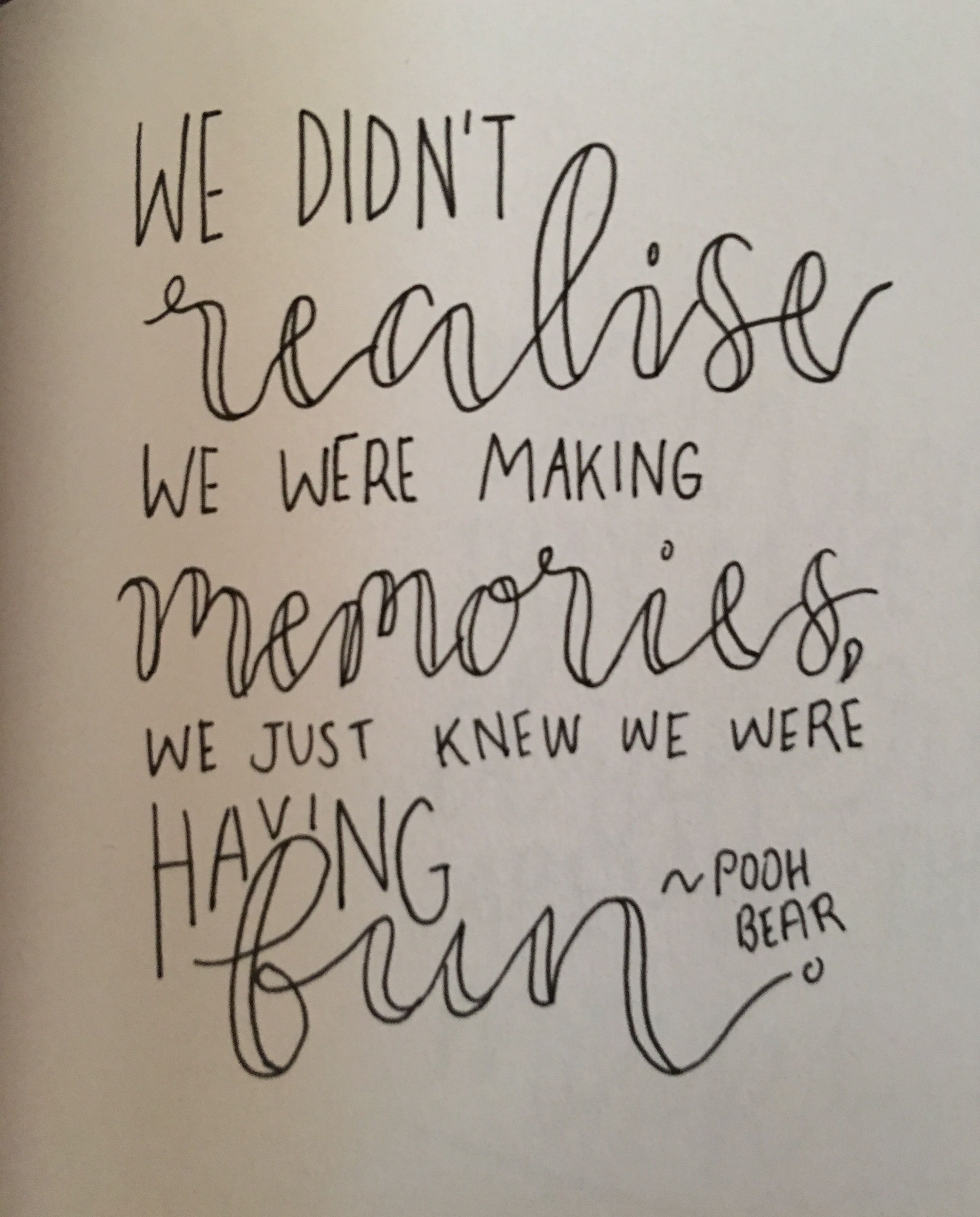 Winnie The Pooh Quote Quotes Pinterest Disney Quotes Senior Quotes And Calligraphy