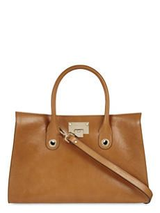 JIMMY CHOO Riley leather tote