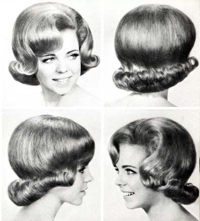 easy simple hair styles 1960s hair and makeup 60s hair flipping and 60 s 1960