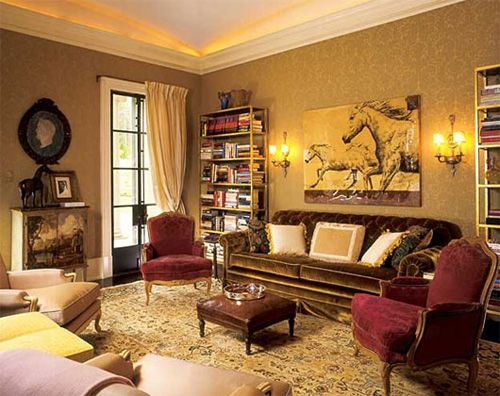 House Of Atlanta, Victorian Interior Design By Robert Couturier. I Love The  Color Scheme Design Ideas