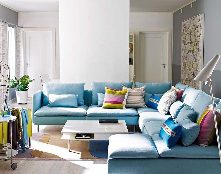 Especial nuevo estilo revista de decoraci n celeste y turquesa pinterest muebles - Salones nuevo estilo ...