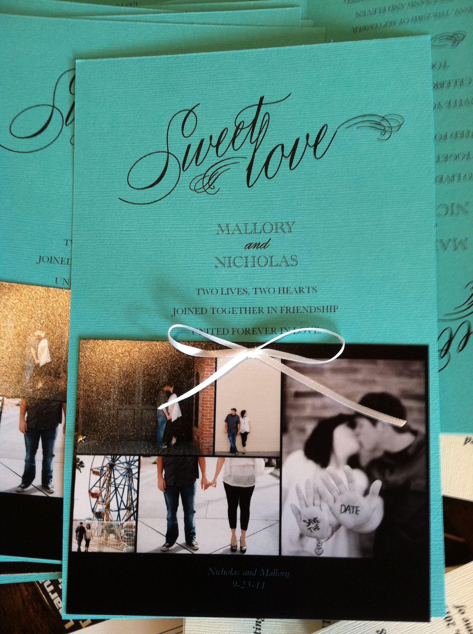 Diy wedding invite invitation pinterest wedding weddings and