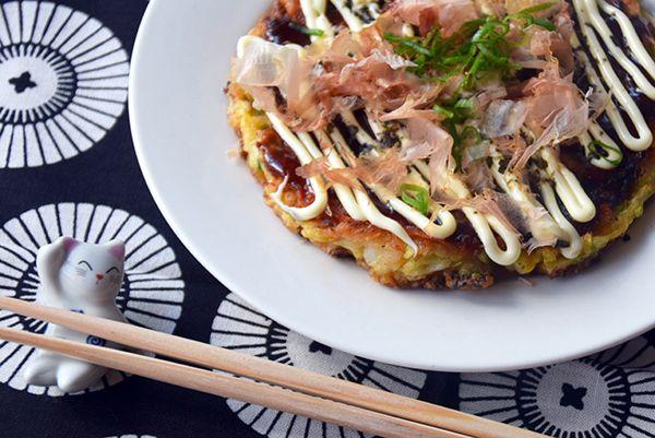 Osaka Style Okonimayaki Recipe