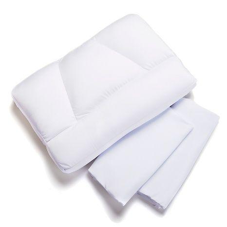 Tony Little Destress Micropedic Sleep Pillow Jumbo Sleep Pillow Pillows Destress