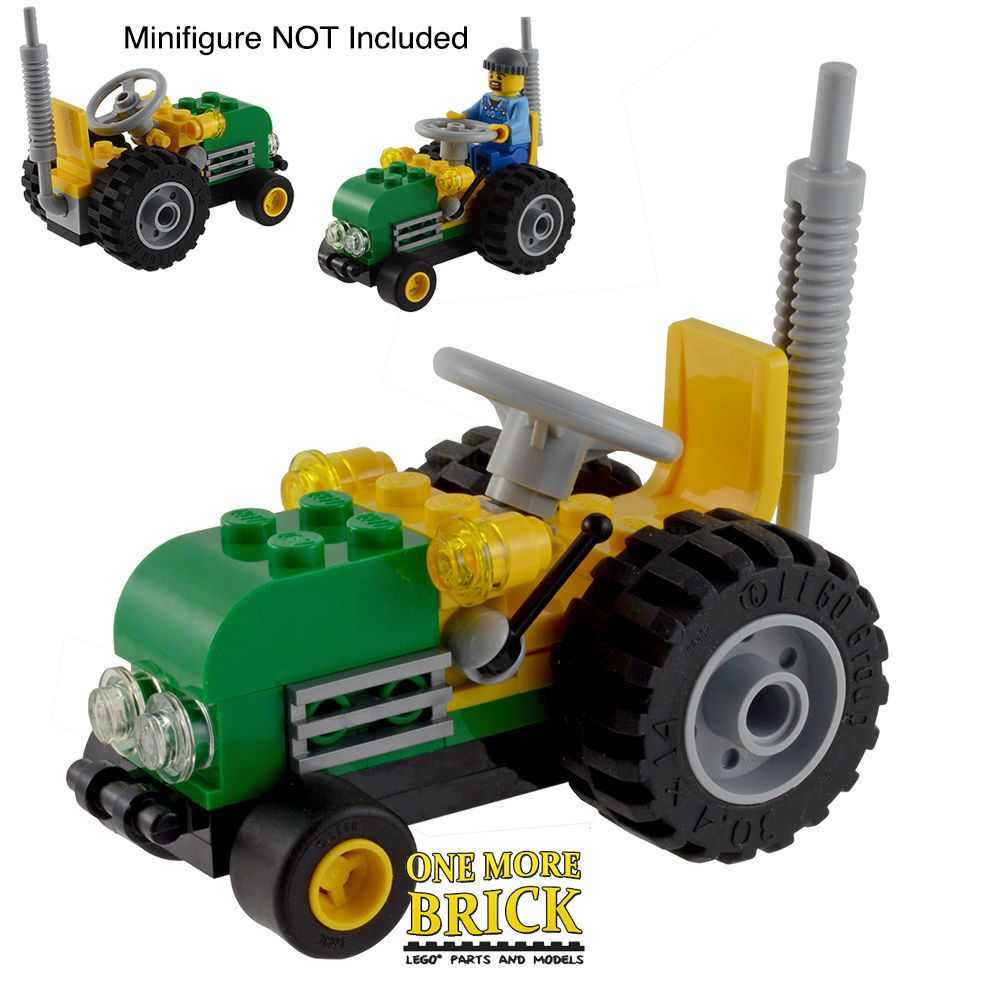 Awesome Lego Tractor Perfect For Farm Or Country Themes Lego Farm