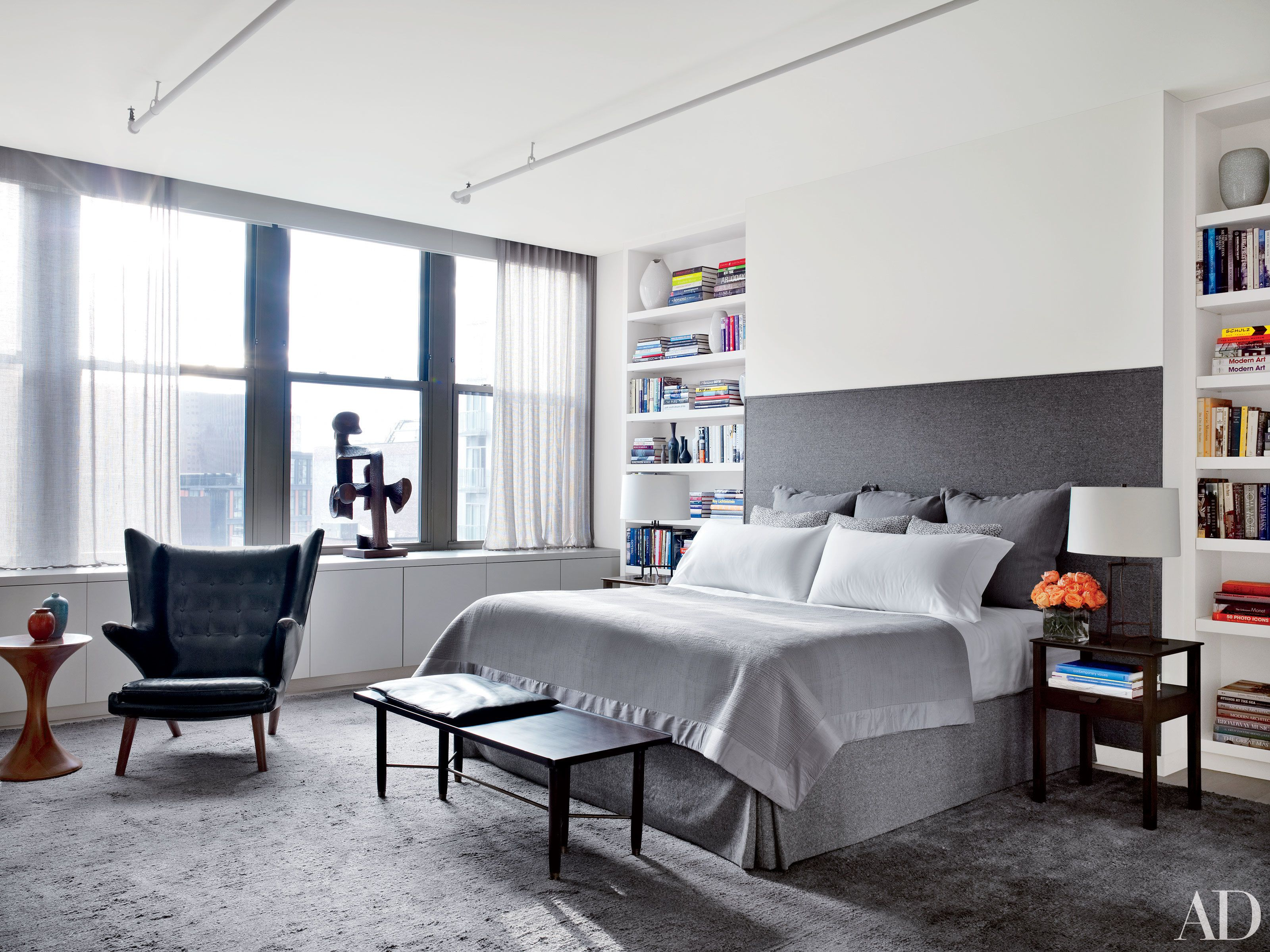 24 Contemporary Bedrooms with Sleek and Serene