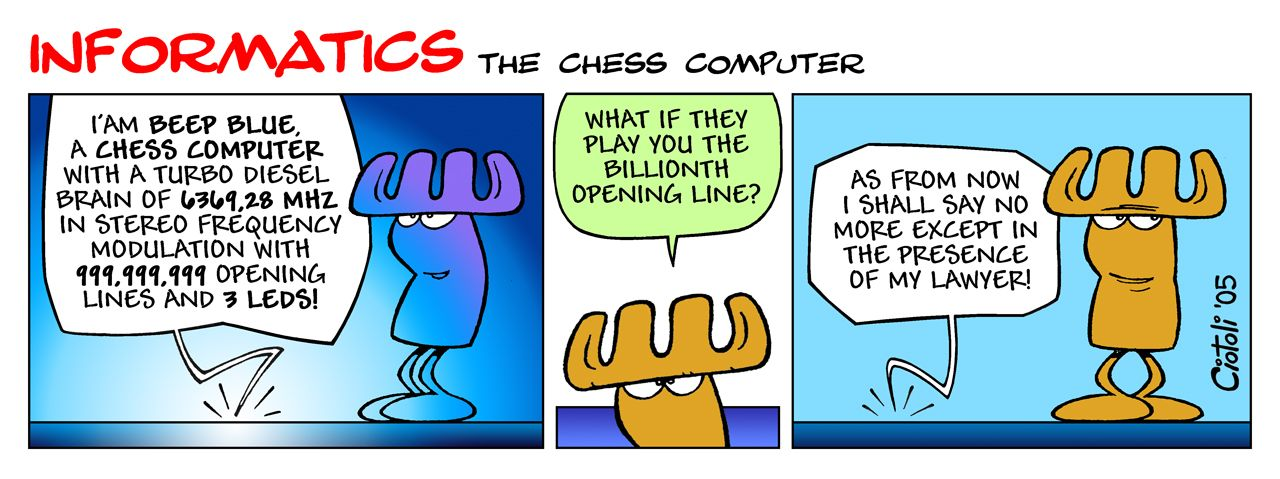 INFORMATICS - The Chess Computer