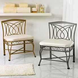 Extra Wide Vanity Stool Extra Large Chairs Seating