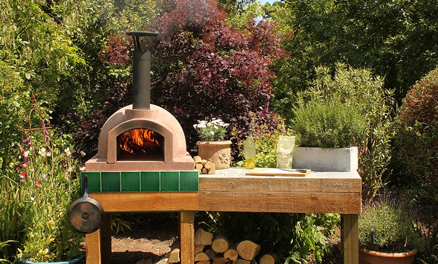 An Outside Oven...I Saw It On Jamie Oliver The Other Day And · Outdoor Pizza  ...