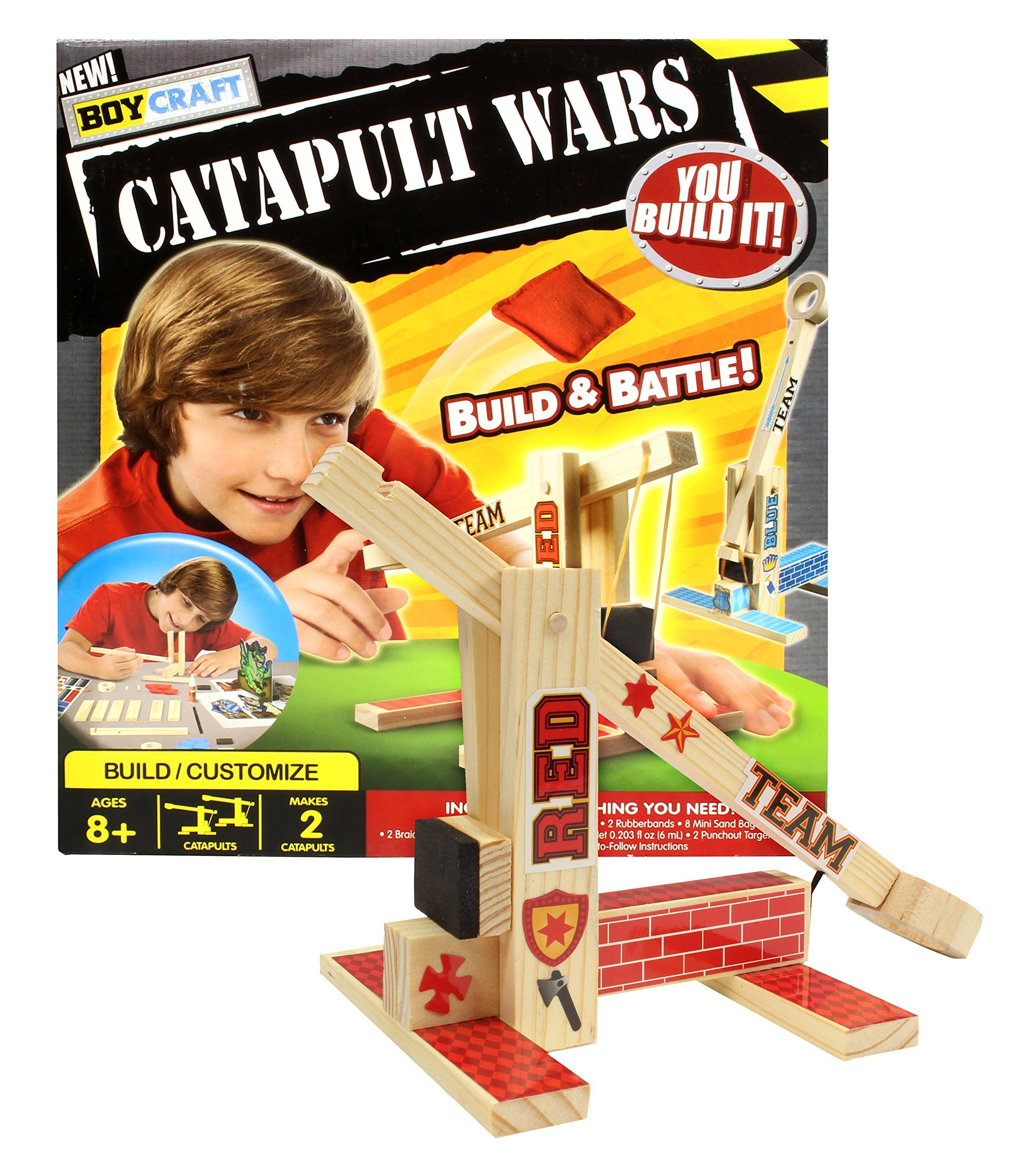 Kids Toys Happy Christmas Christmasgift Amazoncom Snap Circuits Sc300 Electronics Discovery Kit Boy Craft Catapult Wars Build And Battle With 2 Catapults Games