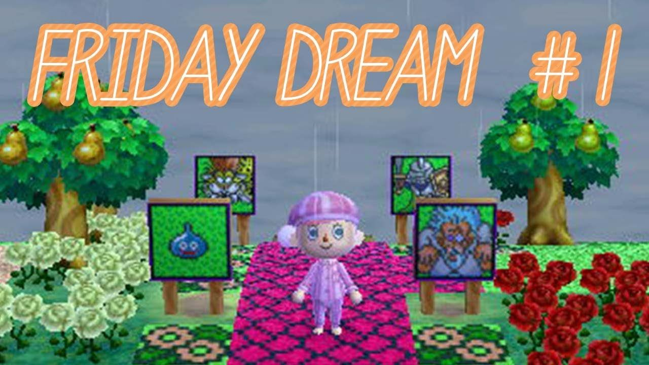 Animal Crossing Friday Dream 1 Dragon Quest Themed Town