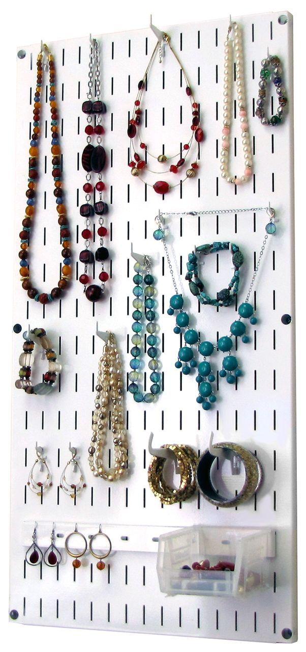 Jewelry Organizer Wall Hanging Jewelry Holder Necklace Rack