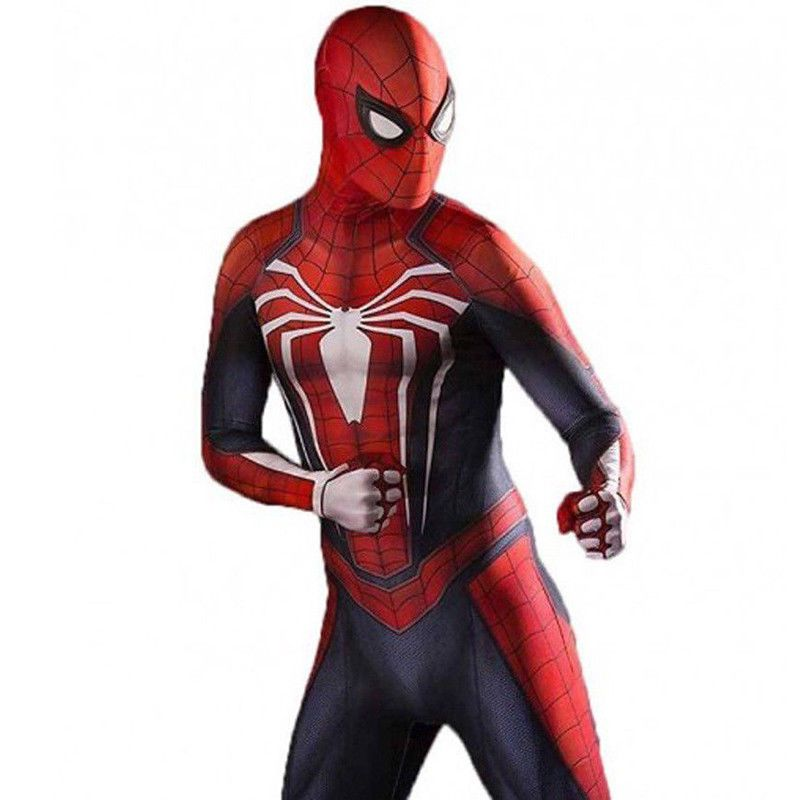 Marvel Universe Superior SpiderMan Costume Spandex Cosplay Spiderman ZENTAI Suit