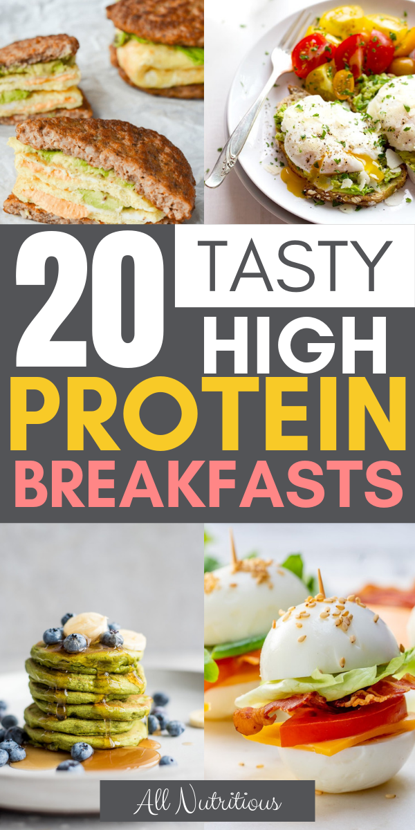 Photo of 20 Tasty High Protein Breakfasts