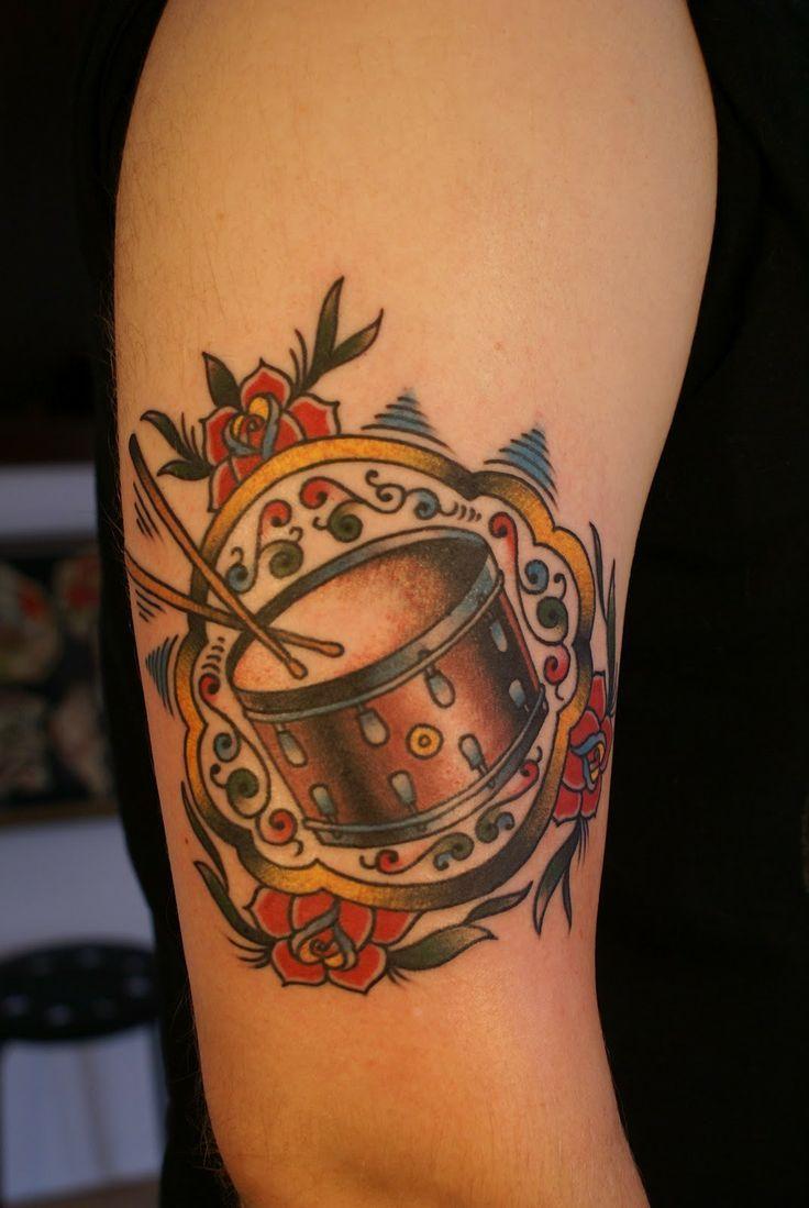 Drum Tattoos Ideas