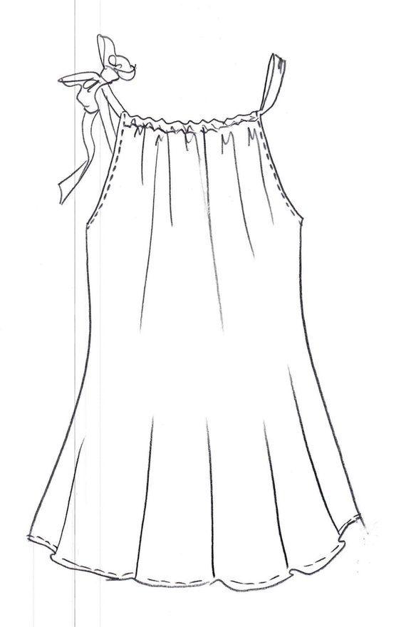 PillowCase Dress, PDF Pattern, Digital Download,Toddler Dress Pattern, Easy Sew Pattern