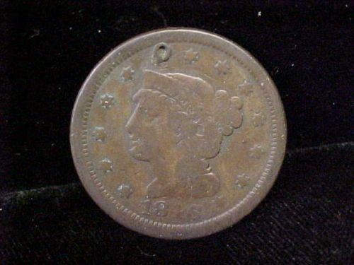 1846 Large Cent Braided Hair Coin One Cent Must See Small Date | eBay