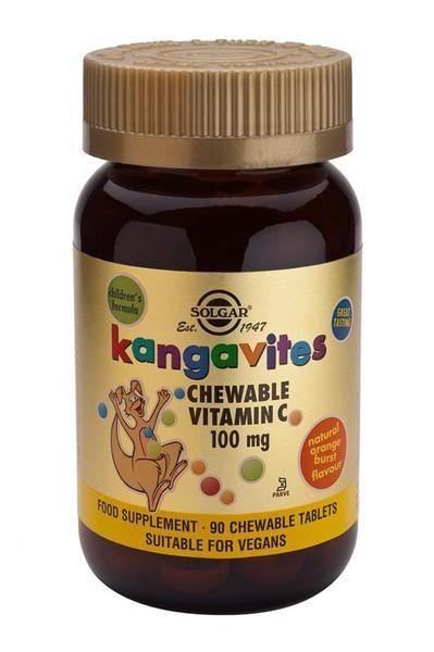Kangavites Vitamin C 100mg Chewable Vegan