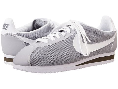 Womens Shoes Nike Classic Cortez BR Wolf Grey/Cool Grey/White