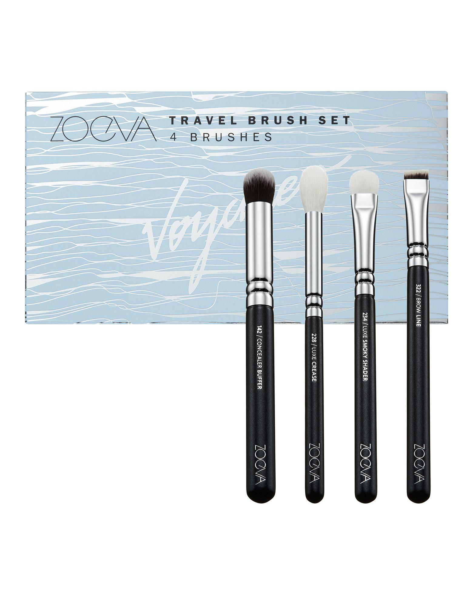 ZOEVA Voyager Travel Brush Set Travel brushes, Eye