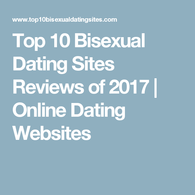 Top sites bisexual dating