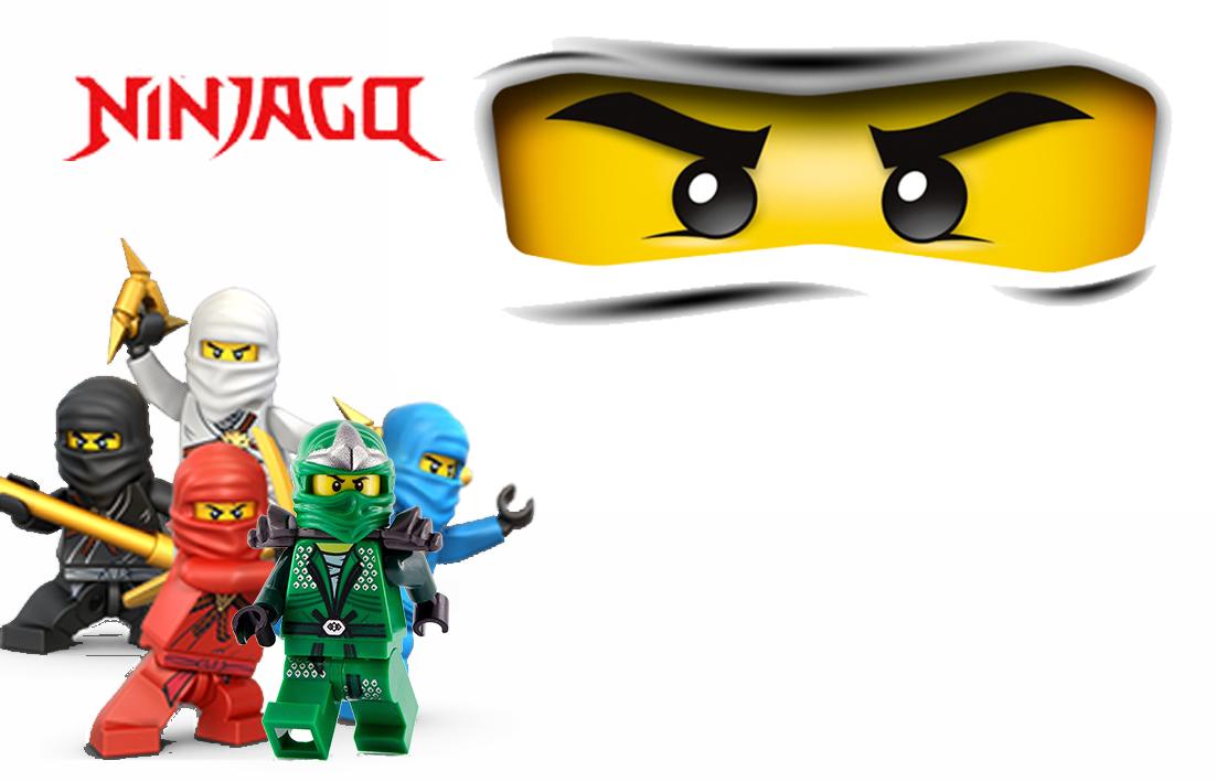 Convites Digitais Simples Kit Digital Aniversário Ninjago